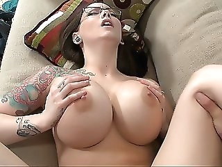 Broad in the beam titted king Ashton Tire big tits brunette milf
