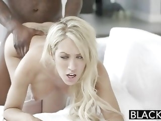BLACKED Wife Capr Cavanni loves Big Black Cock Creampie blonde blowjob interracial