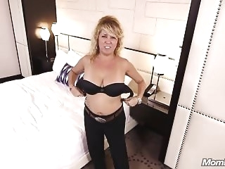 Busty Natural MILF gets Anal Cream Pie amateur mature top rated