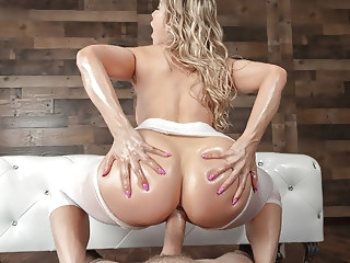 Yoga MILF Turn Into An Anal Beast - Ashley Fires anal blonde hardcore