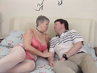 Granny Savana is horny mature stockings old & young