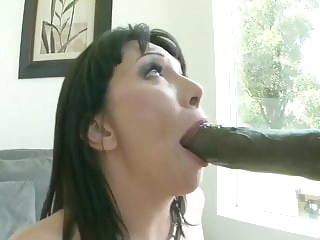 amazing cougar and the biggest cock!! brunette top rated interracial