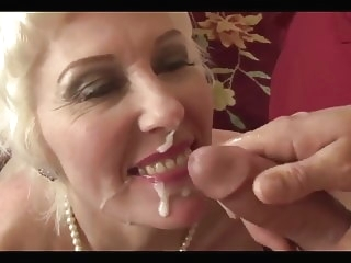 Beautiful mature Lady Dalny Marga fucs her ass hard anal blowjob cumshot