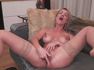 MILF with DSL fucks her ass and pussy anal mature pornstar
