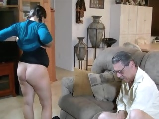 pregnant - It's For The Baby Grandpa babe blowjob creampie